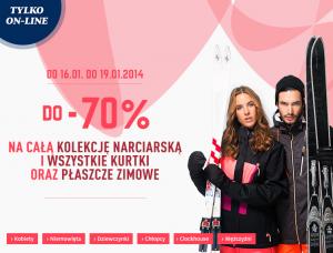 C&A – do 19.01 tańsza kolekcja narciarska