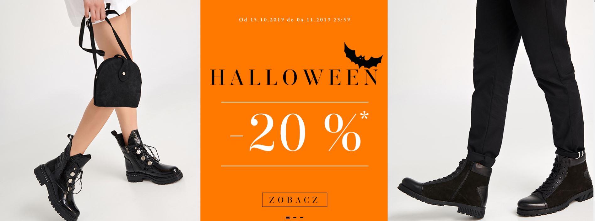 20% na asortyment Badura z okazji Halloween