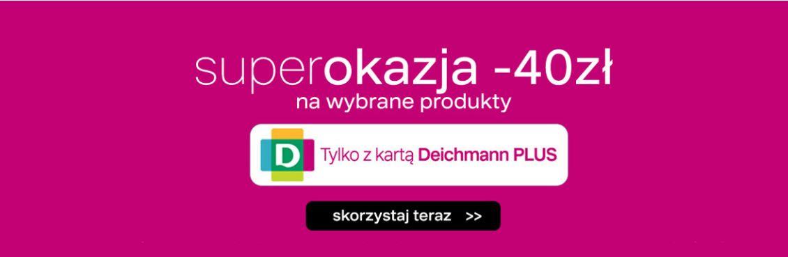-40 zł na wybrane produkty z oferty Deichmann