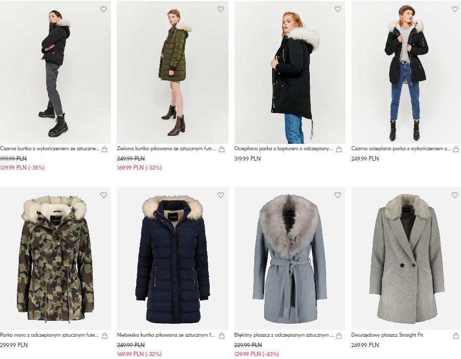 Do 50% na kurtki i płaszcze w Tally Weijl